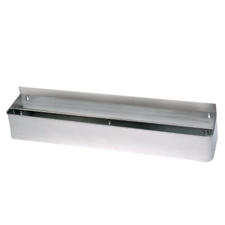 "Advance Tabco DT-2-X Underbar Basics Speed Rail, double tier, 24""W x 8-1/8""D x 6-1/2""H, (10-12) bottle capacity, keyhole mounting, stainless steel, NSF"