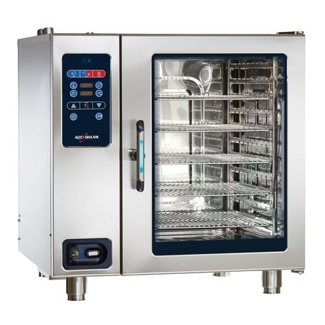 "Alto-Shaam CTC10-20G Combitherm CT Classic Combi Oven/Steamer, gas, boilerless, countertop, (11) 18"" x 26"" full size sheet or (22) 12"" x 20"" full size"