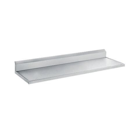 "Advance Tabco VCTF-243 Countertop, 36""W x 25""D, with 5"" backsplash, 16 gauge 304 series stainless steel, satin finish"