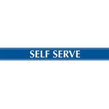 Beverage Air 409-423C-062 Self-Serve Sign, for LV66/72/MMR/MMF72