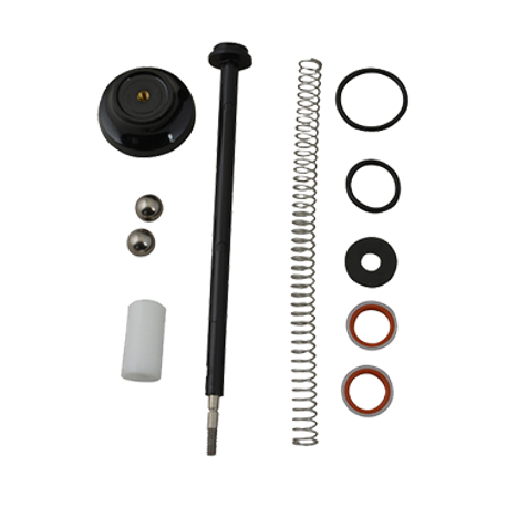FMP 217-1226 Pump Plunger Parts Kit, includes knob, piston with spring, seal assembly, O-rings, washers, (2) stainless steel check balls, head insert