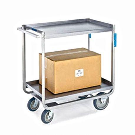 Lakeside 953 Tough Transport Utility Cart, 2-tier, 48\