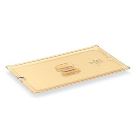 Amber slotted cover, half size, Vollrath 34200