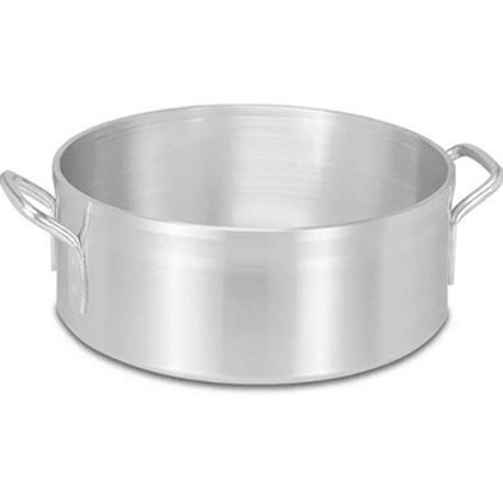 15-quart Wear-Ever Classic Select heavy-duty aluminum brazier pan, Vollrath 68215