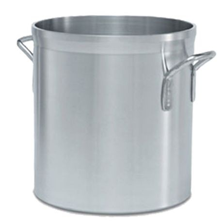 20-quart Wear-Ever® Classic Select® heavy-duty aluminum stockpot, Vollrath 68620