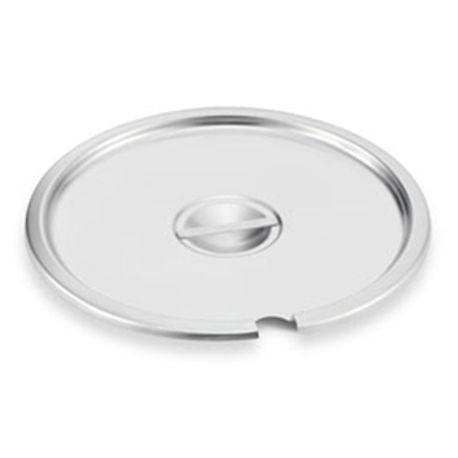 Stainless steel slotted cover for double boiler inset, Vollrath 78200