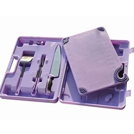 ALLERGEN SAF-T-ZONE SYSTEM W/PURPLE CASE,BOARD,KNIFE