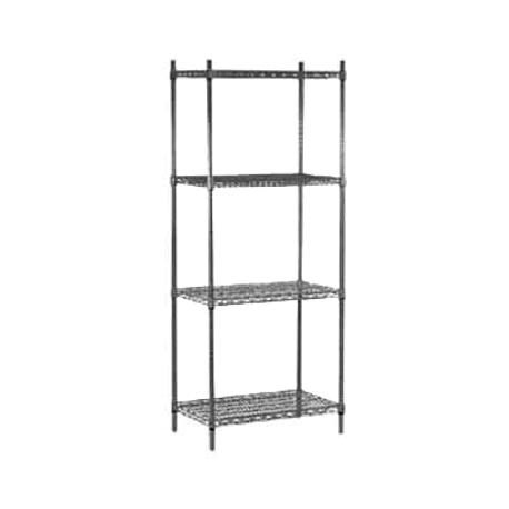 "Advance Tabco EG-1442-X Wire Shelving, 42""W x 14""D, heavy duty, green epoxy coated, NSF"