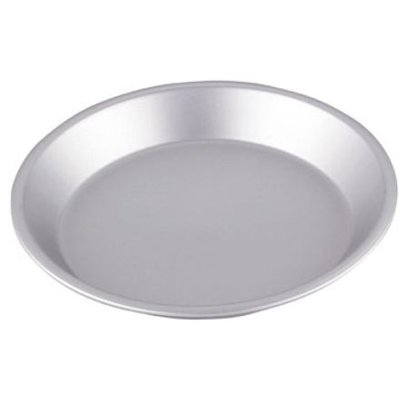 10-inch Wear-Ever® aluminum pie plate with anodized finish, Vollrath 51045