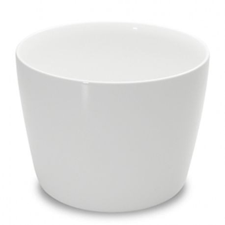 "1000 Bowl, 6-2/3"" diameter, 5-1/9"" height, 68 ounce capacity, white, set of 2 (2 ea/cs), Figgjo 1082HH000"