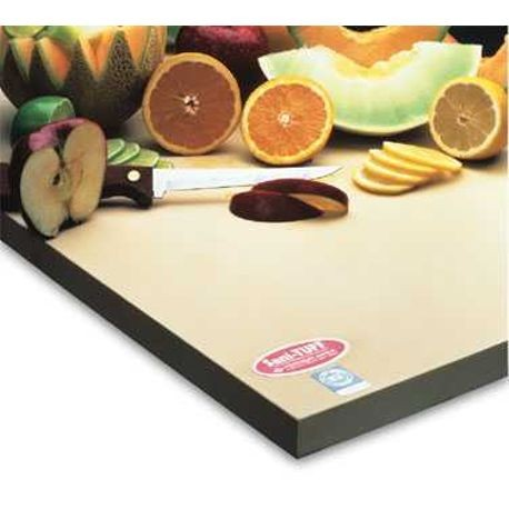12X18X3/4 RUBBER CUTTING BOARD