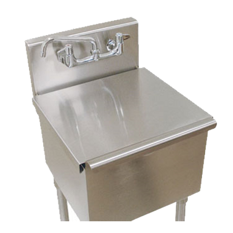 Advance Tabco LSC-242 Stainless steel sink cover for budget sink 24 x 24 bowl, fits 1-compartment, sinks 4-41-24 & 6-41-24 ONLY