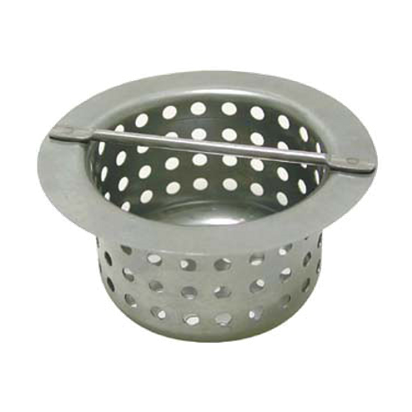 "Advance Tabco FT-2 Replacement Strainer Basket, 4"" x 4"" x 4"", for floor trough"