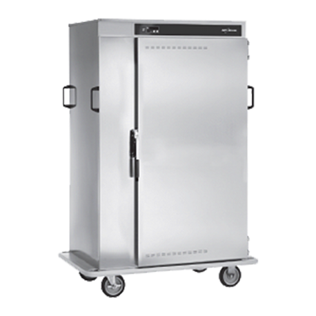 Alto-Shaam 1000-BQ2/128 Halo Heat Banquet Cart, 128 plate capacity, ON/OFF power switch, up and down arrow buttons, heat indicator light, temperature
