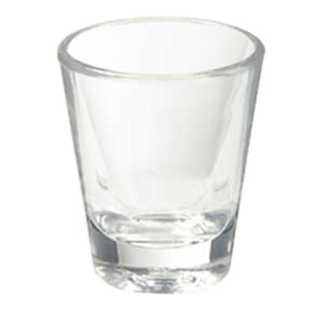 ALLURE SHOT GLASS 1-1/2 OZ SAN PLASTIC 2DZ/BX 8BX/CS