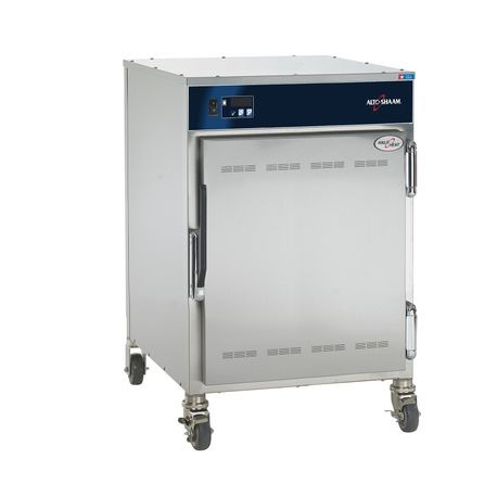 "Alto-Shaam 750-S Halo Heat Low Temp Holding Cabinet, on/off simple controller with adjustable thermostat, indicator light, capacity (10) 12"" x 20"" pans"