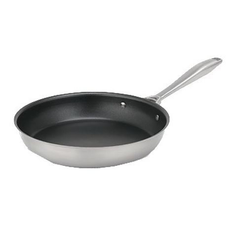10 15/16-inch Intrigue stainless steel fry pan with Ceramiguard II nonstick coating, Vollrath 47757