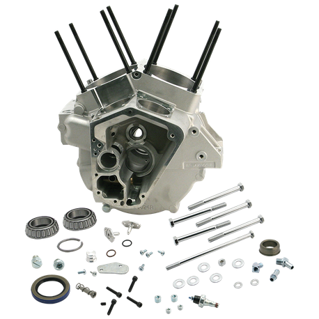 "Special Application Crankcases for 1992-'99 Big Twins with 4-1/8"" Bore, Small Diameter Flywheels - Natural"