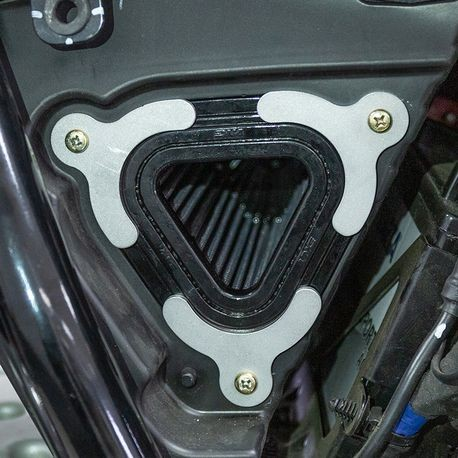 High-Flow Air Intake Eliminator Plate Kit for Royal Enfield® 650 Twins