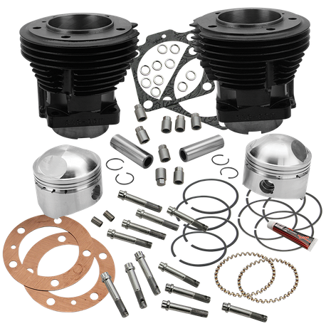 "80"" 3-1/2"" Bore Cylinder and High Compression Piston Kit for 1979-'84 80""HD<sup>®</sup> Big Twins - Gloss Black Finish"