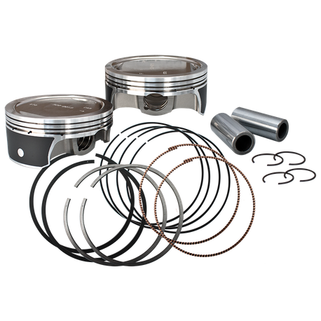 "S&S<sup>®</sup> 4 1/8"" Bore Forged Piston Kit For 1984-'16 Hot Set Up Kit<sup>®</sup>"
