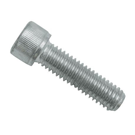 "3/8-16 X 1 3/8"" Zinc-Plated Steel Socket Head Cap Srew"