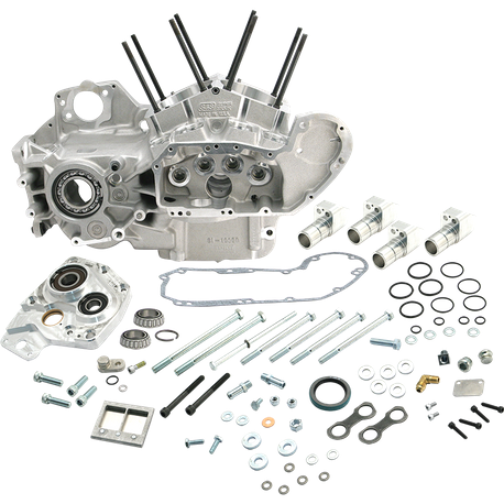 "S&S<sup>®</sup> Special Application 4"" Bore Crankcase for 1986-'03 HD<sup>®</sup> Sportster<sup>®</sup> & 1994-'02 HD<sup>®</sup> Buell<sup>®</sup> Models, 1986-'90 Cam Geometry - Natural"