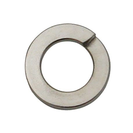 7.28mm X 12.52mm X 1.58 mm Chrome-Plated Steel Lock Washer