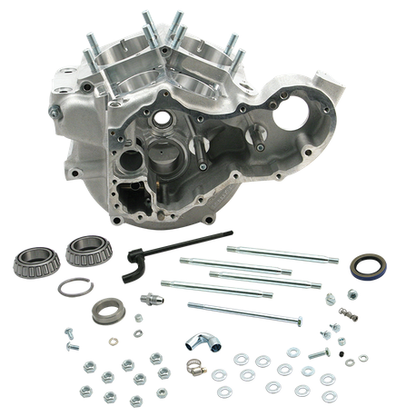 Super Stock<sup>®</sup> Generator Style Crankcases for 1948-'64 Big Twin with Stock Bore - Natural