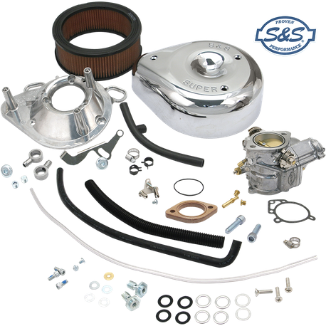 Super E Partial Carburetor Kit for 1991-'03 HD<sup>®</sup> Sportster<sup>®</sup> Models (without manifold and mounting hardware)