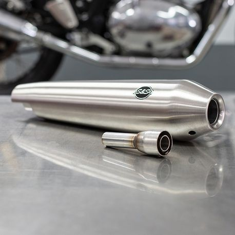 Stainless Muffler Set for Royal Enfield® 650 Twins - International Only