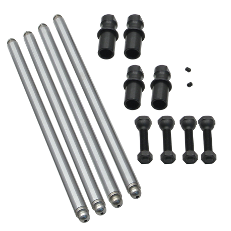 "Solid Lifter Conversion Pushrod Kit for 1948-'65 Big Twins, 5.405"" Cylinder Length"