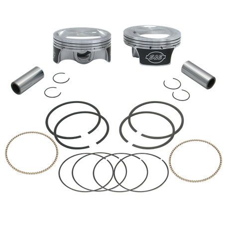 "Pistons For 2007-'17 S&S<sup>®</sup> 103"" Hot Set Up Kit<sup>®</sup> - +.005"""