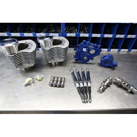 "100"" Power Package for HD<sup>®</sup> Twin Cam 88<sup>®</sup> Models with 585 Easy Start<sup>®</sup> Chain Drive Cams - Silver"