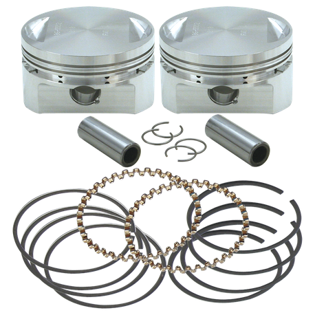 "31/2"" Bore Forged Stroker Piston Kits For Stock Heads Or S&S Performance Replacement Heads - STD"