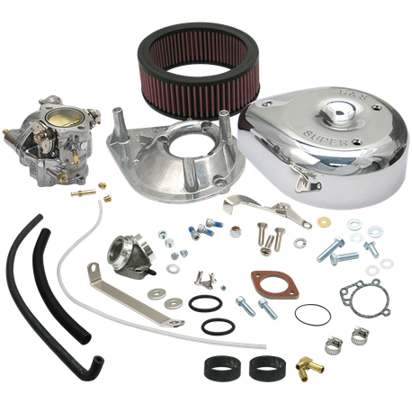 Super E Carburetor Kit for 1979-'85 HD<sup>®</sup> Ironhead Sportster<sup>®</sup> Models (not equipped with vertical magnetos)