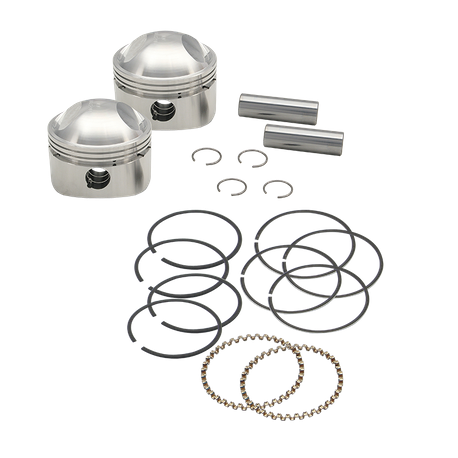 "S&S<sup>®</sup> Forged Stock Bore Stroker Pistons For 1936-'84 OHV Engines - 3-7/16"" +.050"""