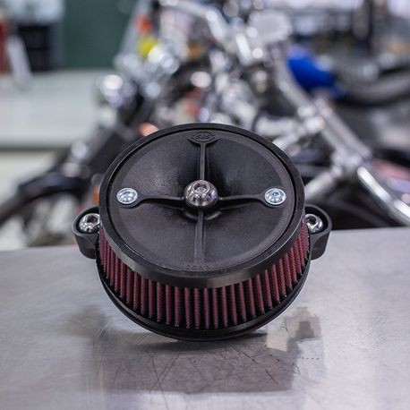 EC-Approved Stealth Air Cleaner Kit for 2018-2019 M8 Softail Models
