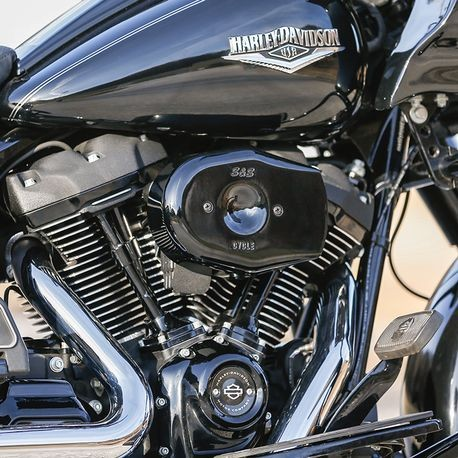 Stealth Tribute Air Cleaner Kit in Gloss Black for 2017-'19 M8 Touring, 2018-'19 Softail®