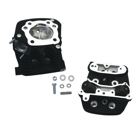 "S&S<sup>®</sup> Super Stock<sup>®</sup> Cylinder Head Kit For 3-1/2"" and 3-5/8"" Bore 1991-'03 HD<sup>®</sup> Sportster Models - Wrinkle Black Powder Coat Finish"