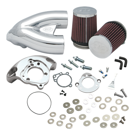 S&S<sup>®</sup> Single Bore Tuned Induction System for 1991-'06 HD<sup>®</sup> Carbureted XL Sportster<sup>®</sup> Models