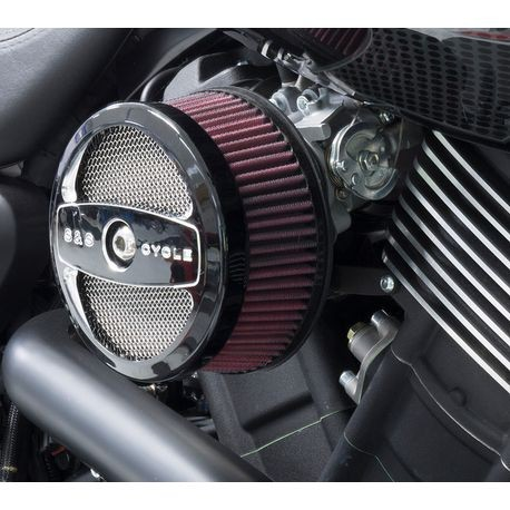 S&S<sup>®</sup> Stealth Air Cleaner Kit for 2017-'18 HD<sup>®</sup> Street Rod<sup>®</sup>