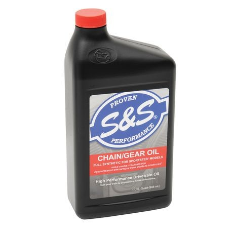High Performance Full-Synthetic Chain / Gear Oil for Sportster® Models - Quart