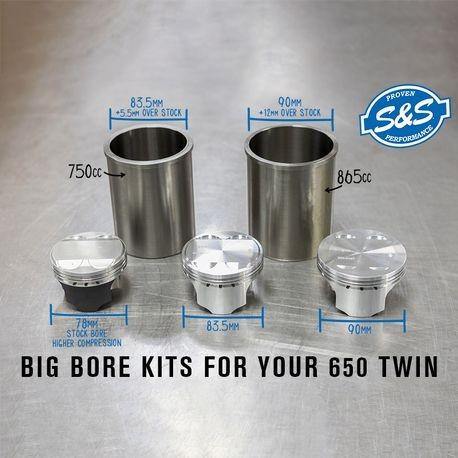 865cc Big Bore Kit for Royal Enfield® 650 Twins