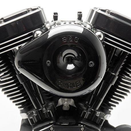 Gloss Black Stealth Slasher Teardrop Air Cleaner Cover