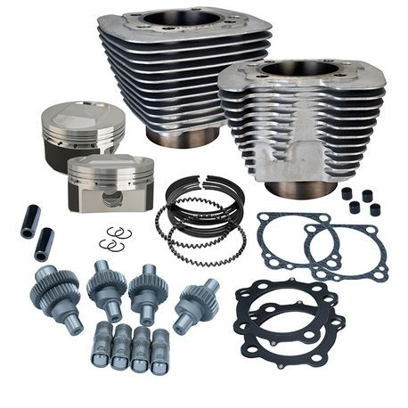 Hooligan Kit - 1200cc to 1250cc for 2000-'18 HD® Sportster® Models - Silver