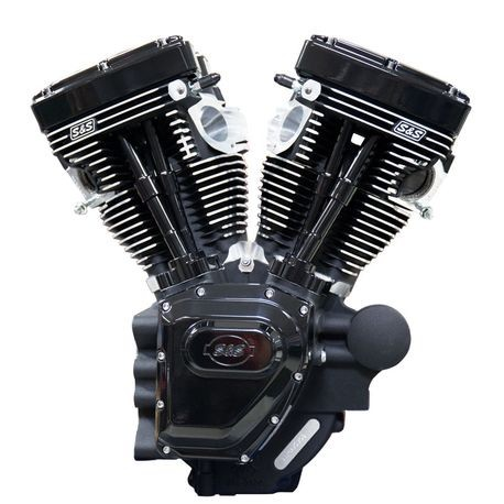t143 black edition longblock engine for select 2007-'16 hd� twin cam 96�,  103�, 110� models - 635 gpe cams | s&s cycle