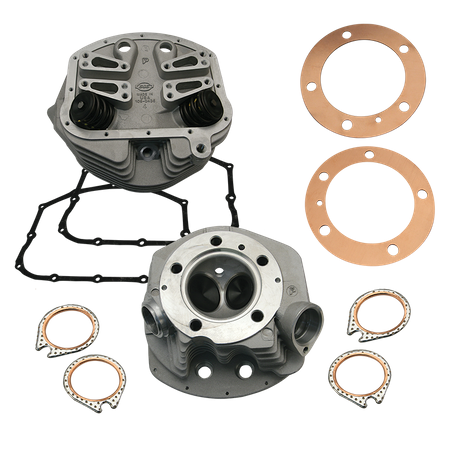 "Replacement 3-5/8"" Bore Single Plug Cylinder Heads For S&S<sup>®</sup> P-Series Engines and Retro Conversion Kits For 1966-'84 HD<sup>®</sup> Big Twins"