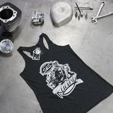 S&S<sup>®</sup> Ladies Flat Track Racerback Tank