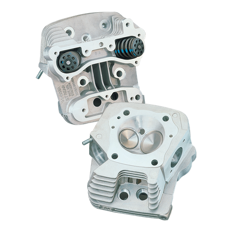 "Super Stock<sup>®</sup> Cylinder Head Kit For S&S<sup>®</sup> 4"" Bore V100  Engines For 1984-'99 HD<sup>®</sup> Big Twins - Natural Aluminum Finish"